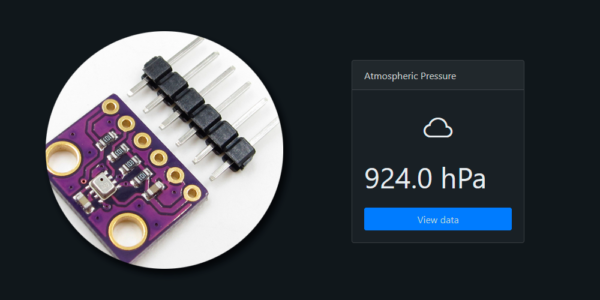 SensorHub Atmospheric Pressure